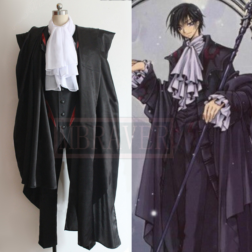 Code Geass DVD Lelouch Lamperouge Cosplay Costume Custom Made Any Size