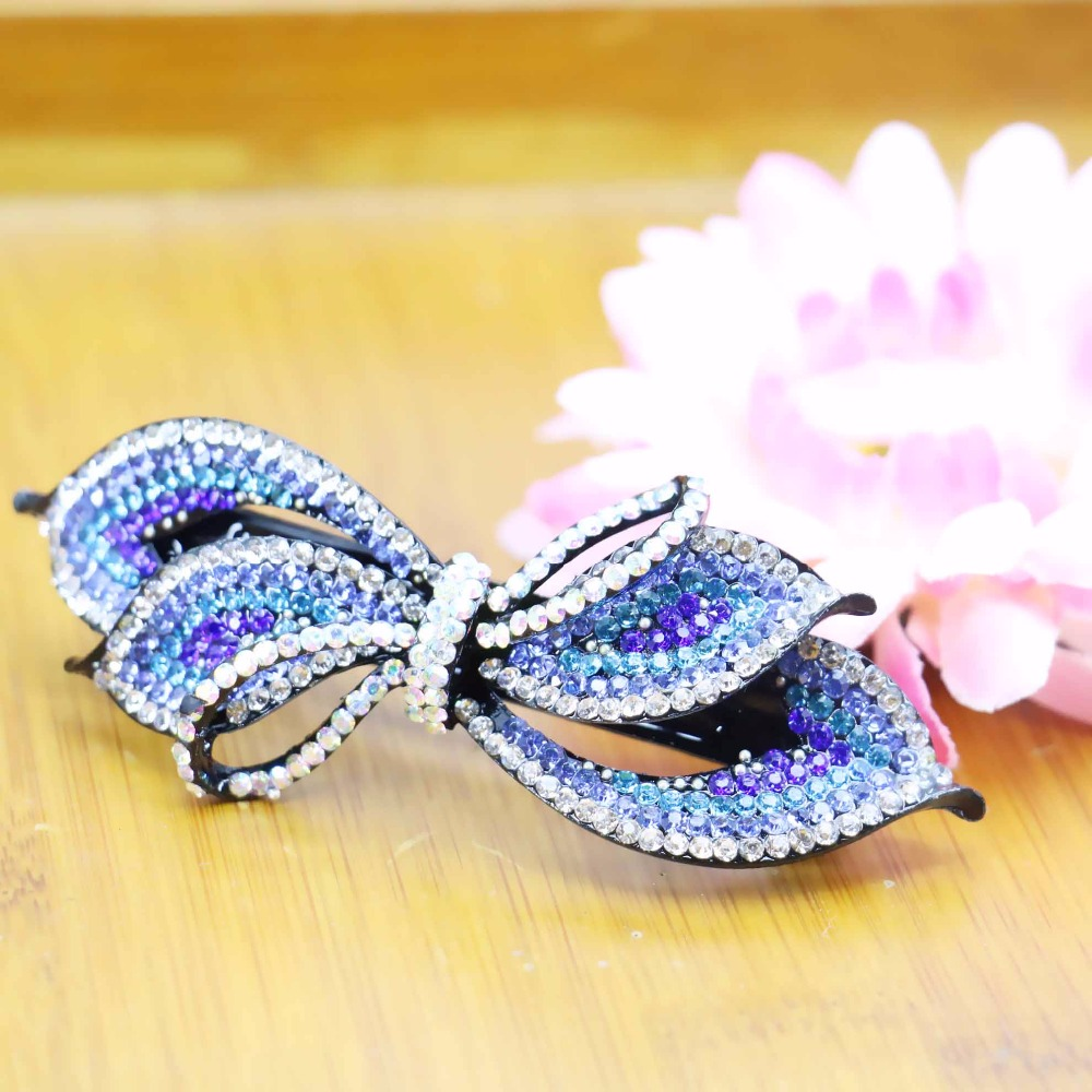 34*93mm Korean style Head Bands Hair Clip Hairpin Wedding Headdress Hair band Gifts Bows Headpiece Jewelry Making Design